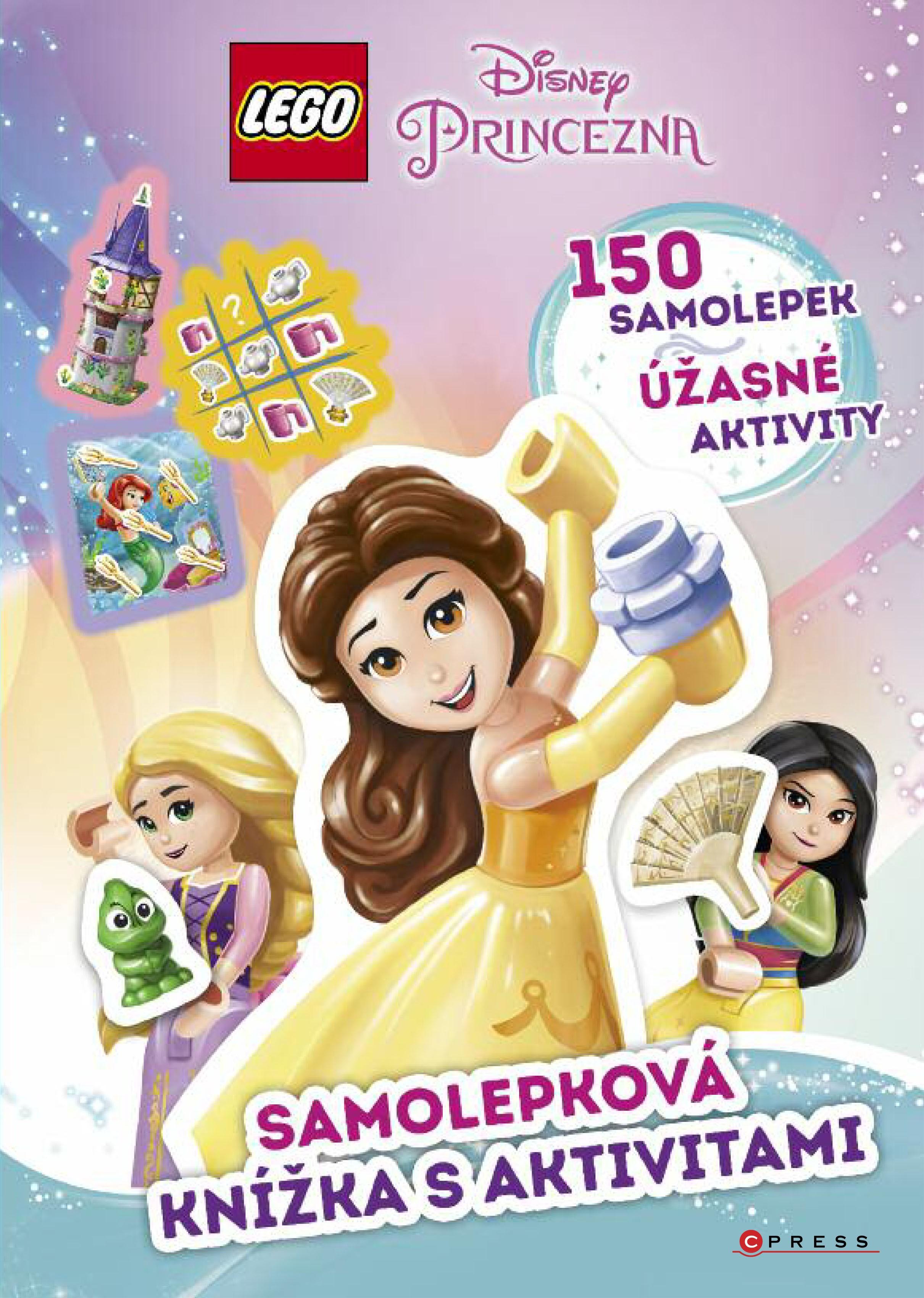 LEGO® Disney Princezna™ Samolepková kníž