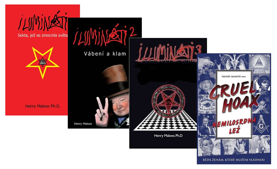 Ilumináti 1,2,3 + Nemilosrdná lež (4 kni - Henry Makow