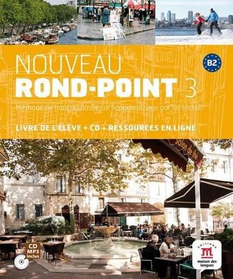 Nouveau Rond-Point 3 (B2) – Livre de l´