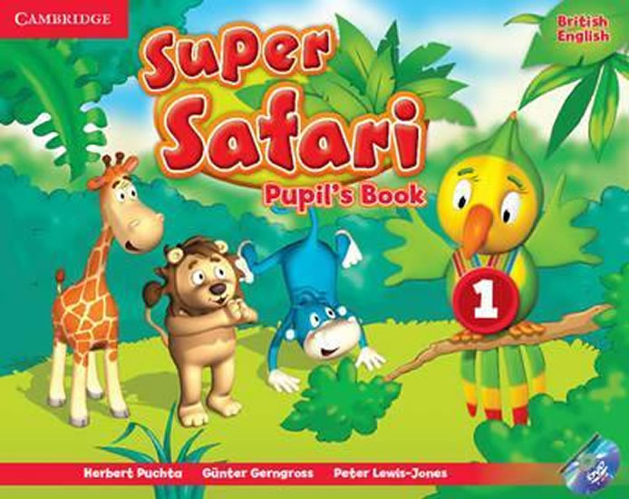 Super Safari 1: Pupils Book with DVD-ROM - Herbert Puchta
