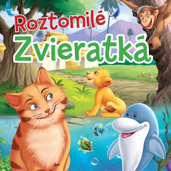 Roztomilé zvieratká - Textilná knižka