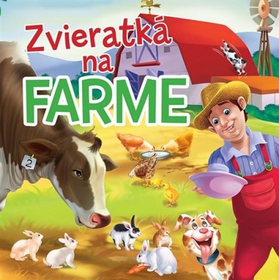 Zvieratká na farme - Textilná knižka