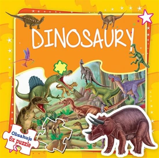 Dinosaury - 6x puzzle