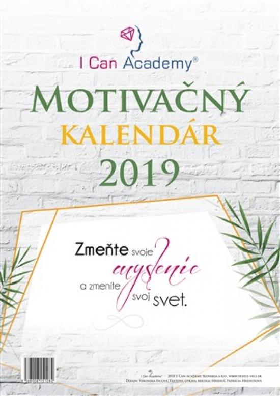 I Can Academy Motivačný kalendár 2019