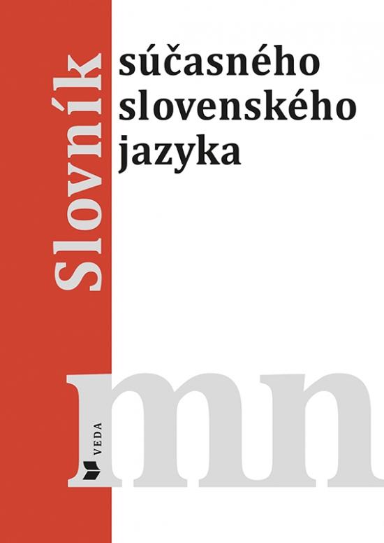 Slovník súčasného slovenského jazyka M - N