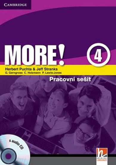 More! 4 Workbook with Audio CD CZ - Herbert Puchta, Jeff Stranks