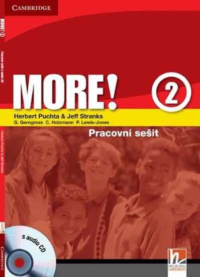 More! 2 Workbook with Audio CD CZ - Herbert Puchta, Jeff Stranks