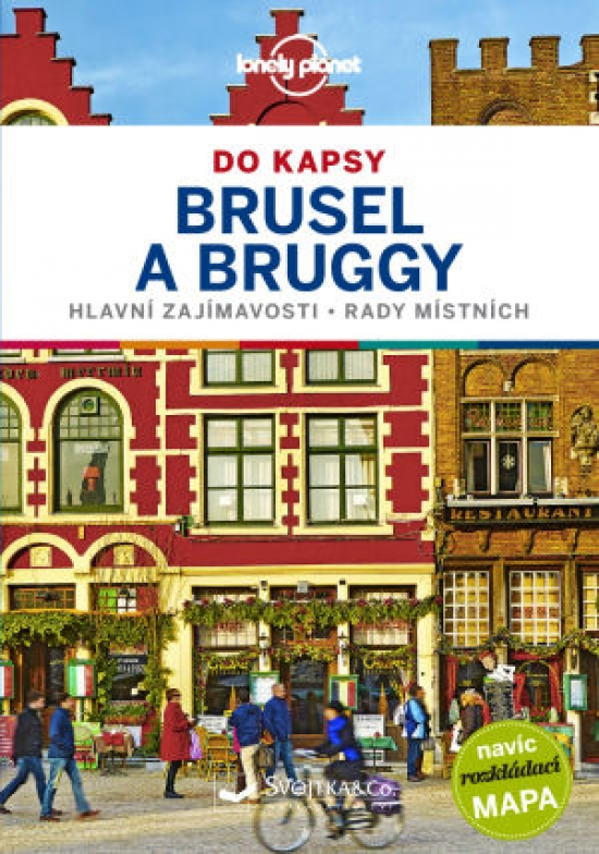 Brusel a Bruggy do kapsy - Lonely Planet