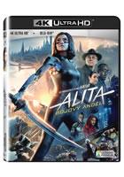 Alita: Bojový Anděl 4K Ultra HD + Blu-ra