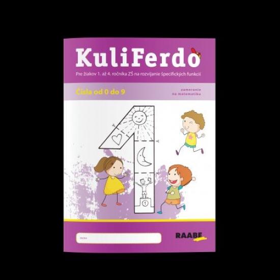 Kuliferdo - vývinové poruchy učenia - čísla od 0 po 9