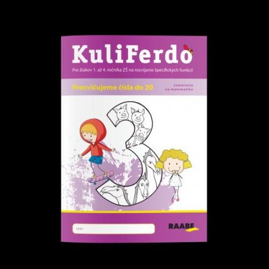 Kuliferdo - vývinové poruchy učenia - precvičujeme čísla do 20