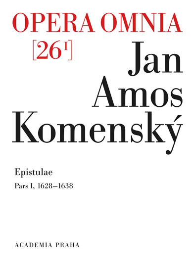 Opera omnia 26/I. - Jan Ámos Komenský