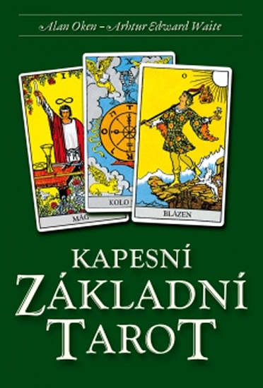Kapesní Základní Tarot - Kniha + 78 kare