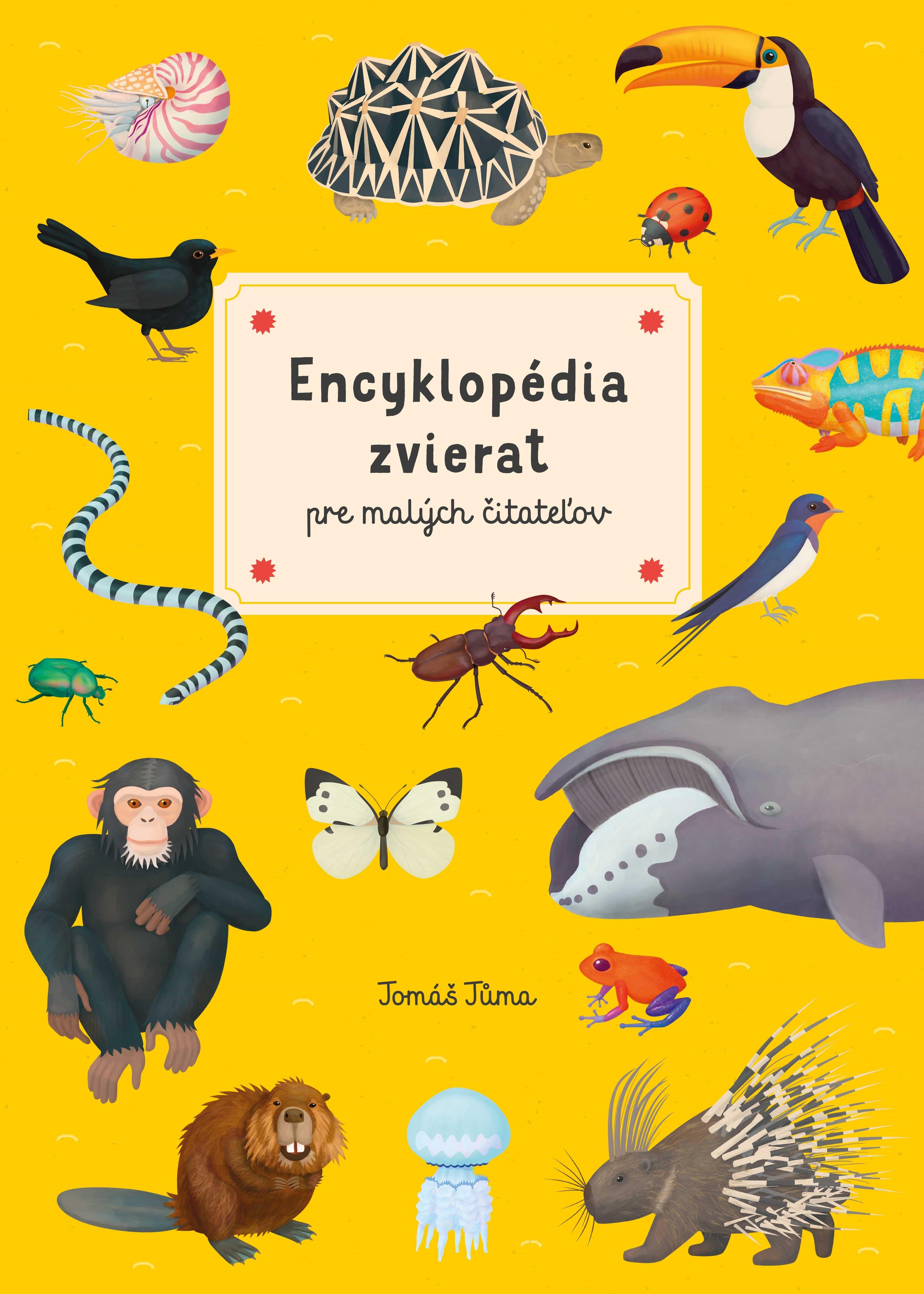 Encyklopédia zvierat pre malých čitateľo