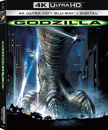 Godzilla 1988 4K Ultra HD + Blu-ray