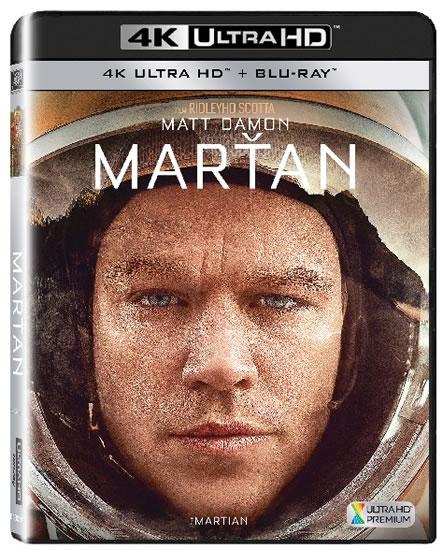 Marťan 4K Ultra HD + Blu-ray