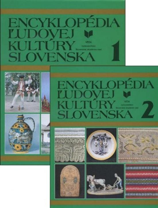 Encyklopédia ľudovej kultúry Slovenska 1+2