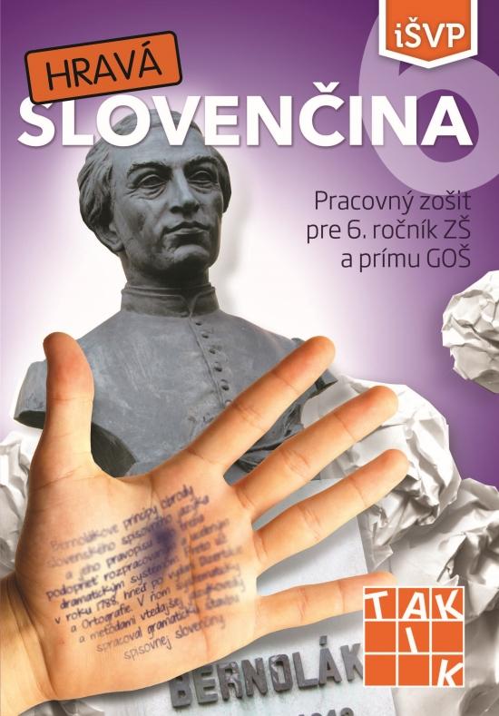 Hravá slovenčina 6 PZ ( 2.vyd.)
