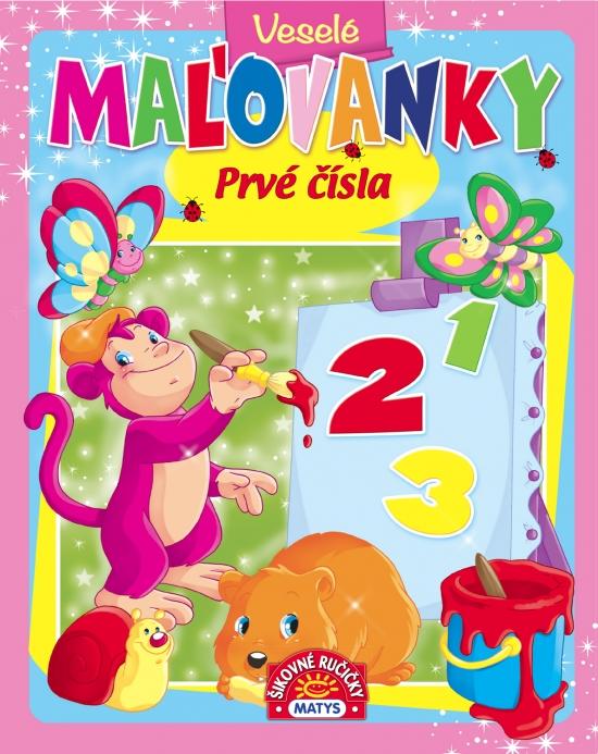 Veselé maľovanky - Prvé čísla - Zuzana Jánošíková
