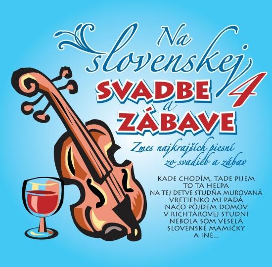 Ľudovky 4 – Na Slovenskej svadbe a zábave 4. (CD)