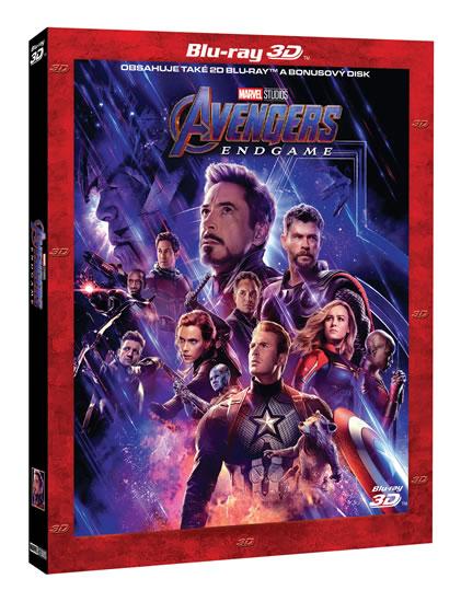 Avengers: Endgame 3 Blu-ray (3D+2D+bonus
