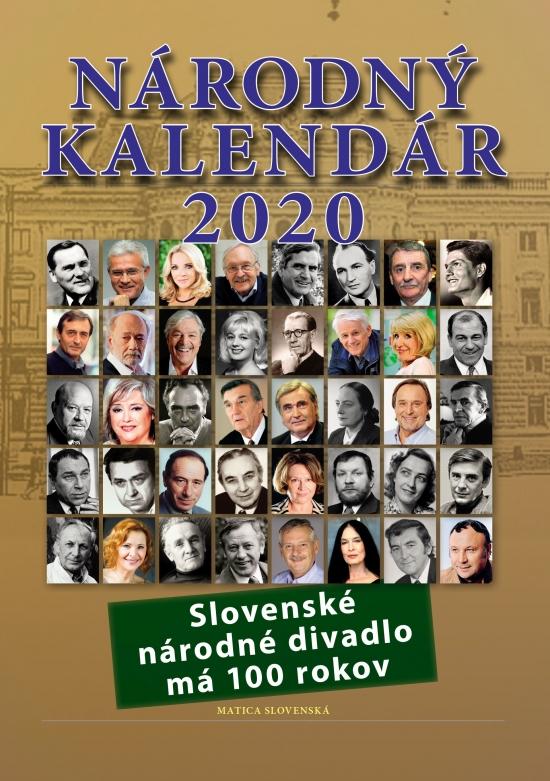 Národný kalendár 2020