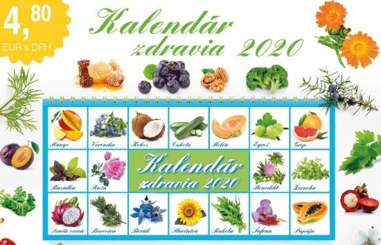 K-Kalendár zdravia 2020