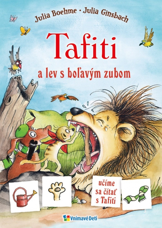 Maľované čítanie - Tafiti a lev s boľavým zubom