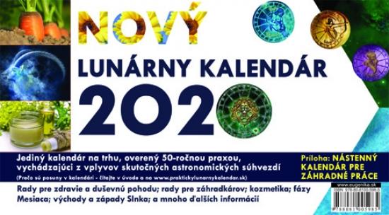 Nový lunárny kalendár 2020/SK - Vladimír Jakubec
