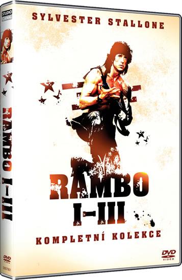 Rambo kolekce 1-3 DVD