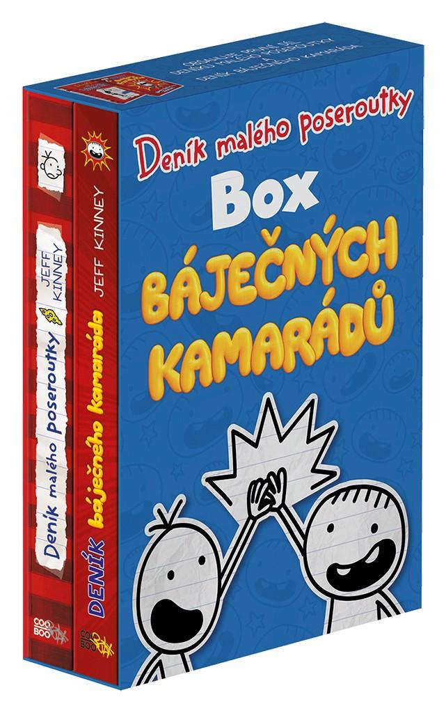 Deník malého poseroutky - Box báječných kamarádů - Jeff Kinney