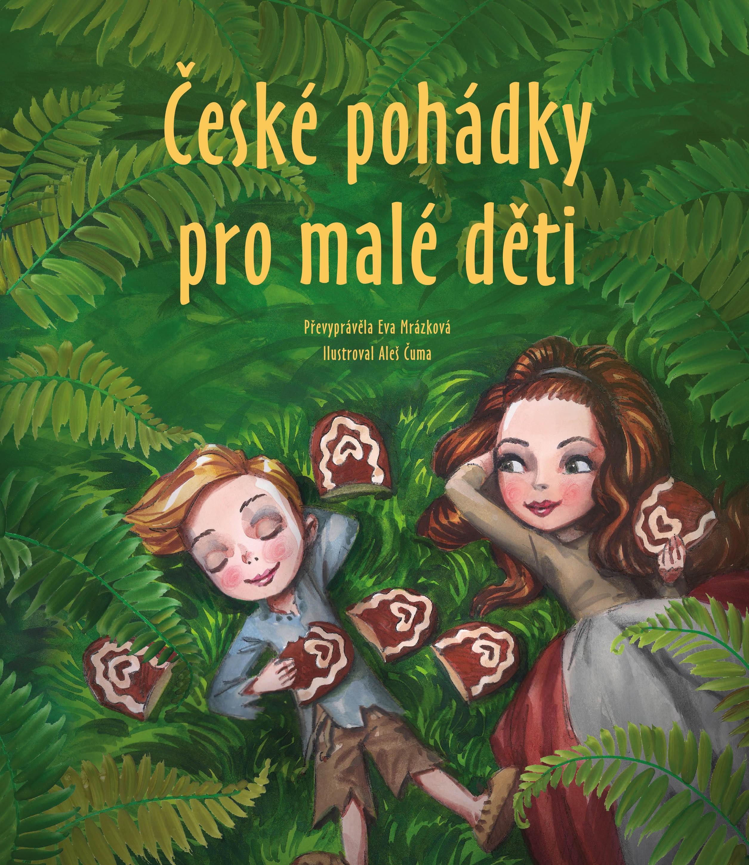 České pohádky pro malé děti - Eva Mrázková