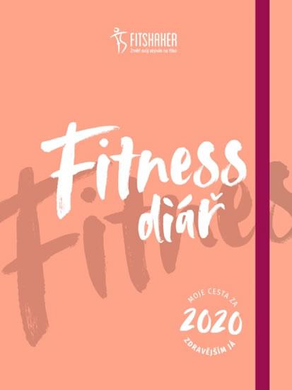 Fitness diář 2020 - Moje cesta za zdravě