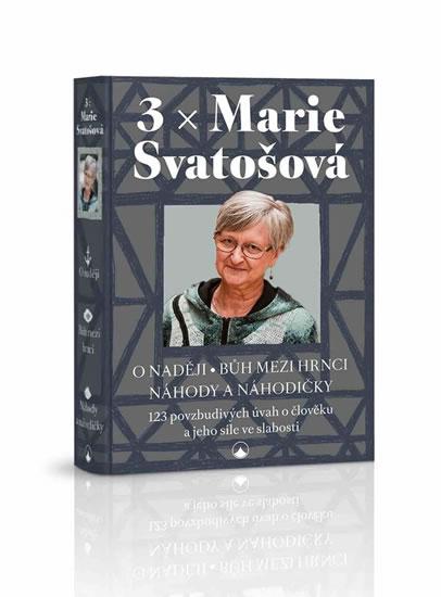 3x Marie Svatošová (3x kniha, 1x pouzdro)