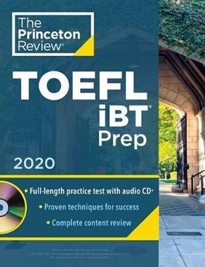 Princeton Review TOEFL iBT Prep with Aud