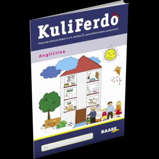 Kuliferdo - angličtina - Prac. zošit pre 3. a 4. r. ZŠ