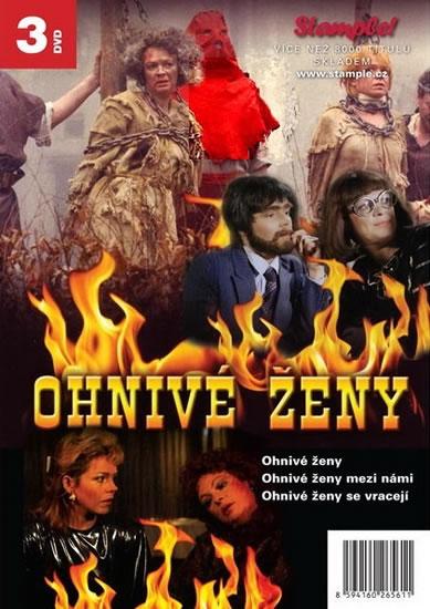 Ohnivé ženy - Kolekce 3 DVD