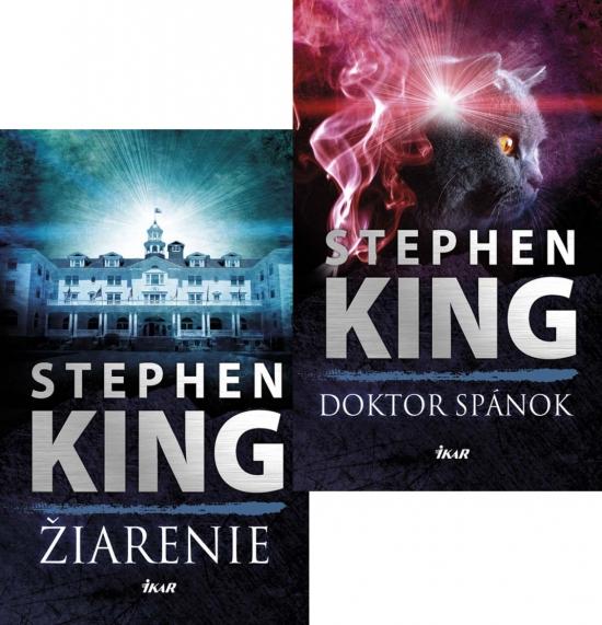 Žiarenie + Doktor spánok KOMPLET - Stephen King