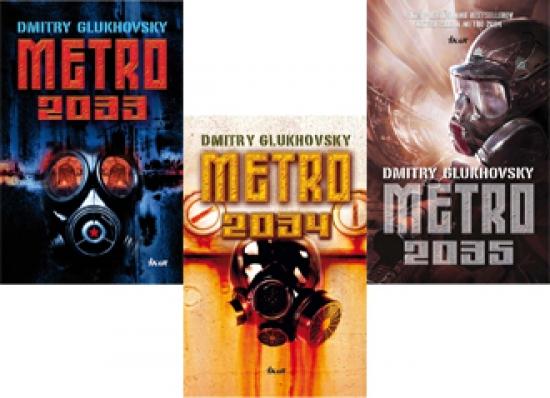 Metro 2033 + 2034 + 2035 KOMPLET - Dmitry Glukhovsky