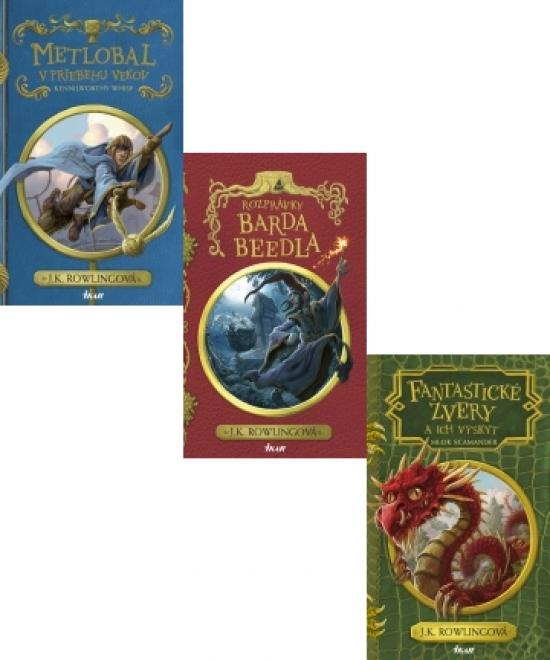 Fantastické zvery a ich výskyt, 2. vydanie Metlobal v priebehu vekov, 2. vydanie Rozprávky Barda Beedla - Joanne K. Rowlingová