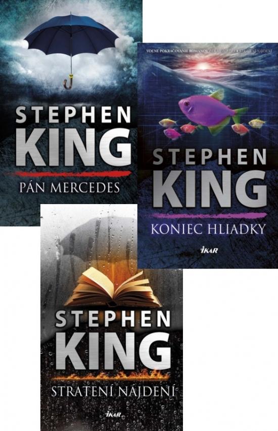 Pán Mercedes (1) Stratení a nájdení (2) Koniec hliadky (3) - Stephen King