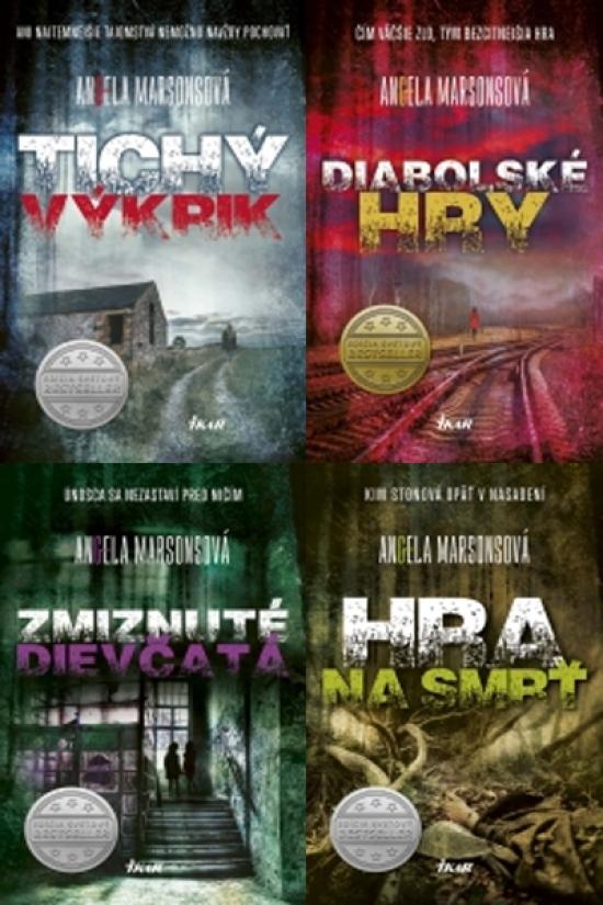 Tichý výkrik (1) Diabolské hry (2) Zmiznuté dievčatá (3) Hra na smrť (4) - Angela Marsonsová