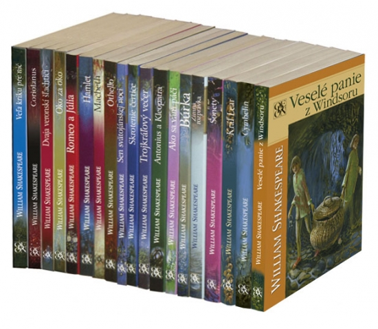 Shakespeare - komplet 19 kníh - William Shakespeare