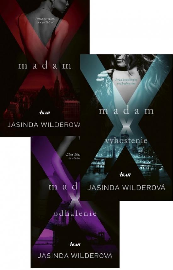 3x Madam X KOMPLET - Jasinda Wilderová