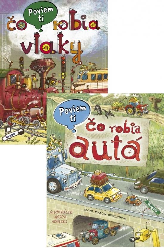 Poviem ti: Autá + Vlaky KOMPLET - Marcin Brykczyński, Artur Nowicki