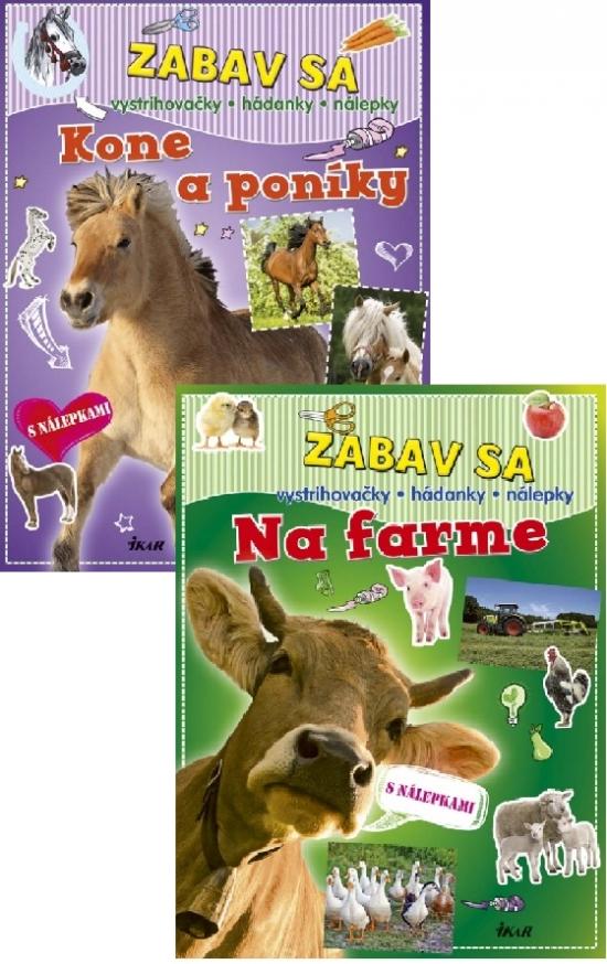 Zabav sa: Na farme+Kone a poníky KOMPLET