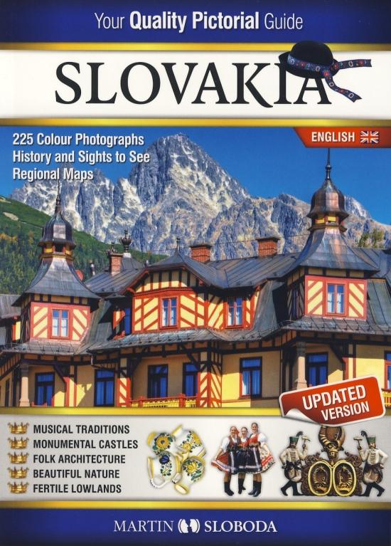 Slovensko obrázkový sprievodca ANG - Slovakia pictorial guide - Martin Sloboda