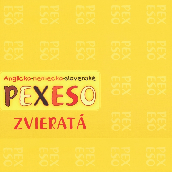 Anglicko- nemecko-slovenské pexeso- zvieratá