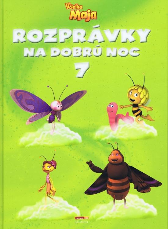 57819125d Kniha: Rozprávky na dobrú noc 7 - Včielka Maja (autor neuvedený) | bux.sk