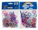 Detail titulu Náhradné gumičky, 2 farebné, 200 ks